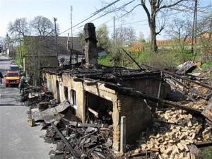 Brandanschlag in Vitkov