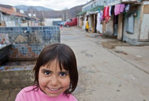 Flüchtlingslager Osterode/Mitrovica (Foto: Europarat)