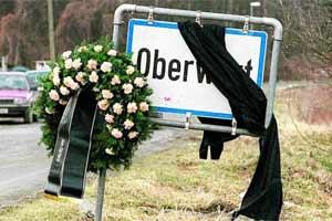 Trauer nach dem Vierfachmord in Oberwart