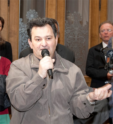 Gärtner horvath 2010 im parlament in wien foto foto