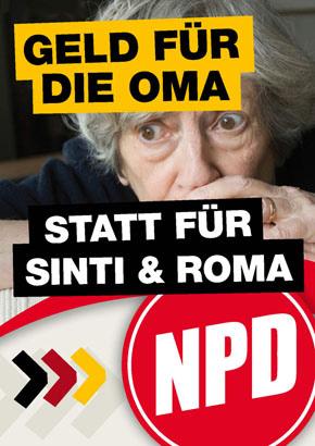 NPD-Plakat