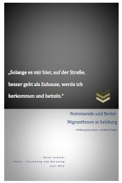 Studie über Bettelmigration in Salzburg (2013)