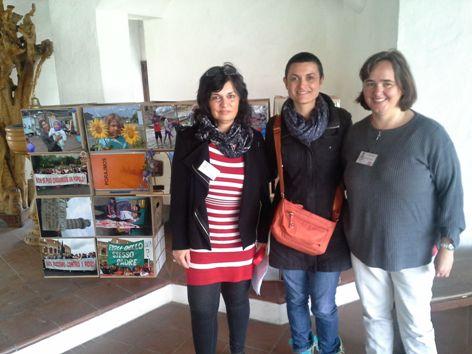 Gisela Kroh, Suzana Jovanovic und Monika Scheweck
