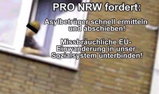 Screenshot aus dem Wahlkampfvideo von Pro NRW, 2014 (Foto: Publikative.org)