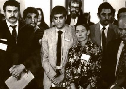 Romani Rose 1981 (Foto: GfbV)
