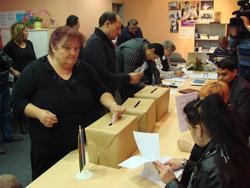 Roma-Volksgruppenwahl 2012 (Foto: Delo)