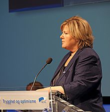 Erna Solberg, 2009 (Foto: CC Wikimedia/Jeblad)