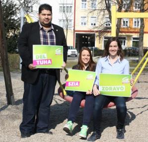 Landtagswahl im Burgenland: Volksgruppenvertreter auf der Liste der Grünen