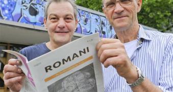 Zeitung-Romani