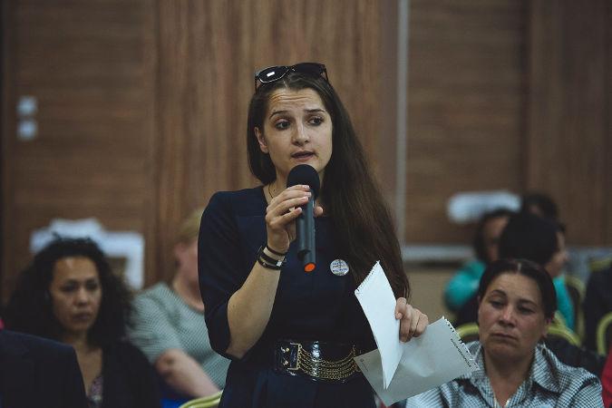 Laura Bosnea, neue Gemeinderätin in Rascani (Foto: UN Programme 'Women in Politics'/Ramin Mazur)