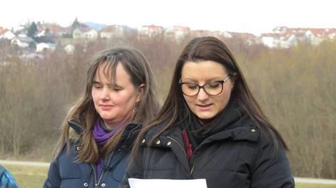 Monika Scheweck und Manuela Horvath (Foto: Mike Rodach, via volksgruppen.orf.at)