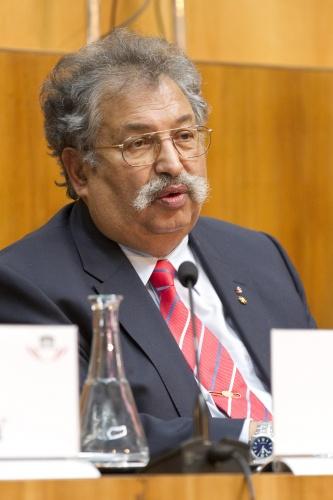 Rudolf Sarközi im Parlament, 2013 (Foto: Parlamentsdirektion / Bildagentur Zolles KG / Martin Steiger)
