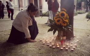 Gedenken am Ceija-Stojka-Platz 2015 (Foto: Romano Centro)