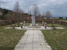 Lösung in Sicht: das Grundstück mit dem Oberwarter Roma-Mahnmal (Foto: Priwo/Wikipedia)