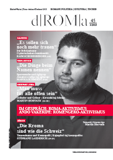 dROMa 45 Cover Martin Horvath