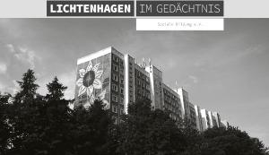 """""""Lichtenhagen im Gedächtnis"""""""