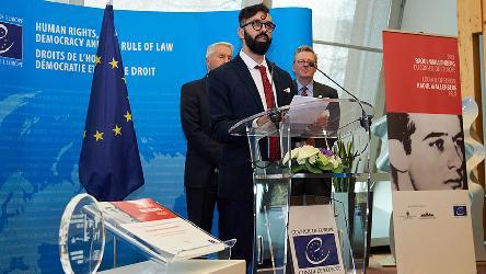 Verleihung des Raoul-Wallenstein-Preis 2018 in Straßburg (Foto: CoE)