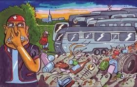 Dieses Bild wird eingeklagt  Die Junge SVP schürt Vorurteile gegen Roma und Sinti: Die lassen sich das nicht bieten. (Bild: SVP)