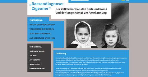 Deutschland: Neues Webportal zum Völkermord an den Sinti und Roma