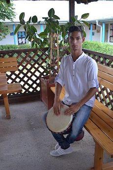 Emanuel Bebe mit 18 Jahren (Foto: evz.ro)