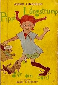 Schwedische Originalausgabe von Pippi Langstrumpf (Foto: Wikipedia)