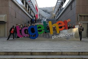 """""""Together"""": """"Das Motto blieb. Die Projekte nicht"""" (Foto: Free Plovdiv Tour)"""