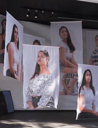 """13 Porträts aus Bulgarien: """"In Between"""" von Anaïs Horn, im Rahmen der Ausstellung """"Kunstraum Steiermark"""" (Foto: Neue Galerie Graz)"""