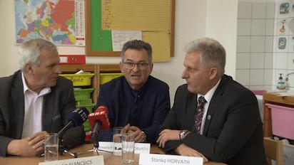 Gemeinsame Pressekonferenz der Volksgruppen, Dezember 2019 (Voto: volksgruppen.orf.at)