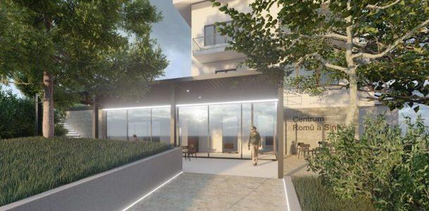 Entwurfsansicht des geplanten Roma-Zentrums in Prag (Bild: rommuz.cz)