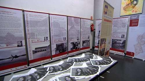 """Roma-Service (und dROMa) in der Ausstellung """"100 Jahre Burgenland und seine Volksgruppen"""" (Foto: ORF)"""